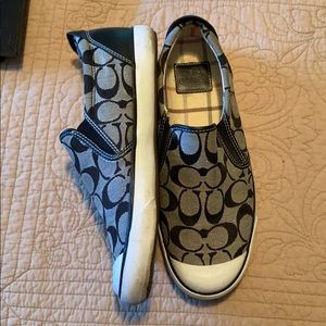 Coach shoes / black and grey